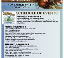 Schedule of Events – Poster